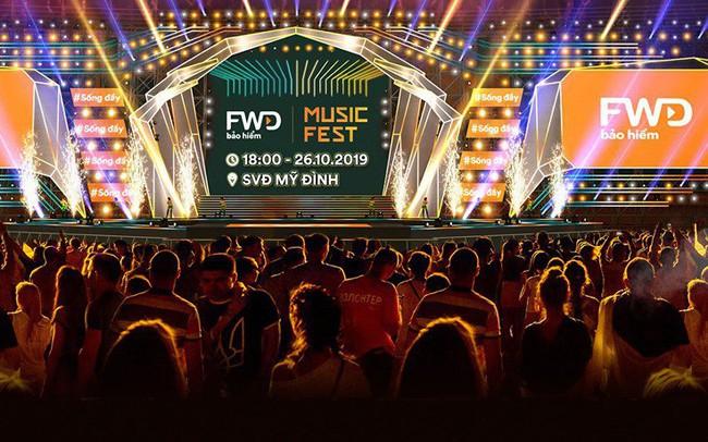 FWD Music Fest trở lại bùng nổ với quy mô hoành tráng tại thủ đô Hà Nội