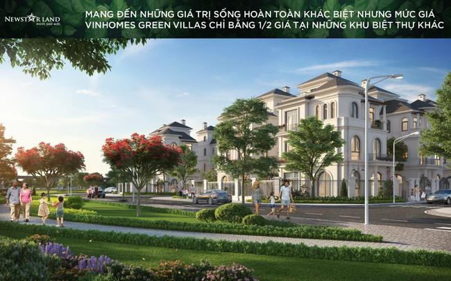 Vinhomes Green Villas: Còn nhiều dư địa gia tăng giá trị