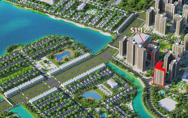 S1.12 – Sức hút mãnh liệt từ tòa căn hộ hướng hồ Vinhomes Ocean Park