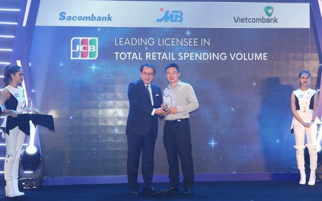 MB nhận 4 giải thưởng danh giá từ tổ chức thẻ quốc tế Nhật Bản JCB