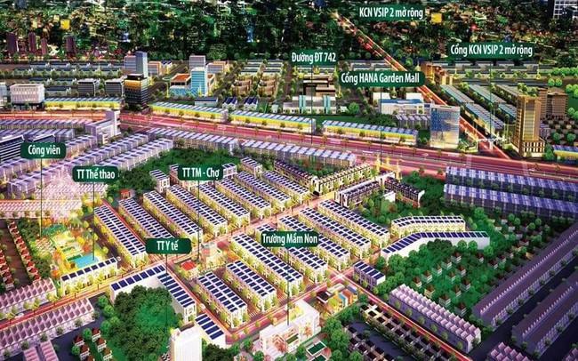 Lý giải sức hút nhà phố thương mại Hana Garden Mall