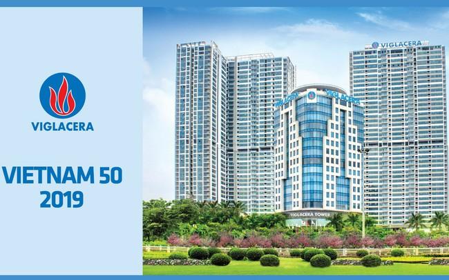 Viglacera được xếp hạng tăng trưởng cao nhất và lọt vào trong top 50 thương hiệu có giá trị nhất Việt Nam