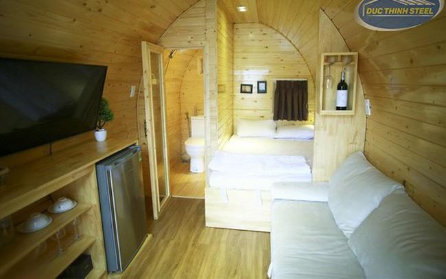 Ngôi nhà thông minh bằng gỗ có giá từ 140 triệu đồng có thể di chuyển dễ dàng ở Việt Nam