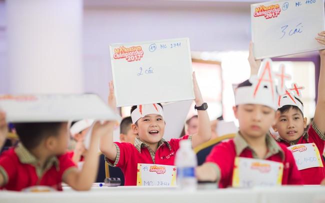Cơ hội tỏa sáng tài năng của các Siêu nhí Toán học trên toàn quốc