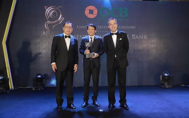 OCB nhận giải thưởng doanh nghiệp xuất sắc châu Á tại lễ trao giải Asia Pacific Entrepreneurship Awards 2019 (APEA)