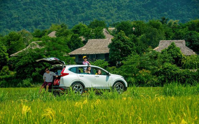 Du lịch cuối tuần bằng xe gia đình, chọn Honda CR-V