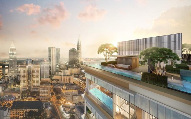 Ấn tượng khu tiện ích sang trọng The Sky Club tại dự án The Marq