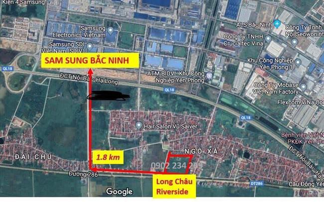 Bất động sản Yên Phong hưởng lợi từ mở rộng Tỉnh lộ 286