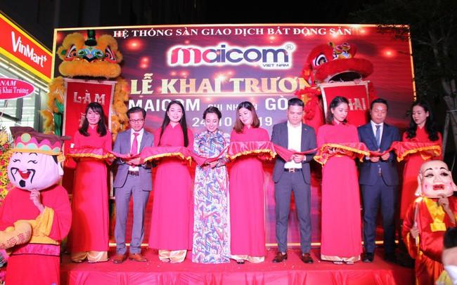 Hệ thống sàn giao dịch bất động sản Maicom Vietnam khai trương chi nhánh Maicom Gò Vấp
