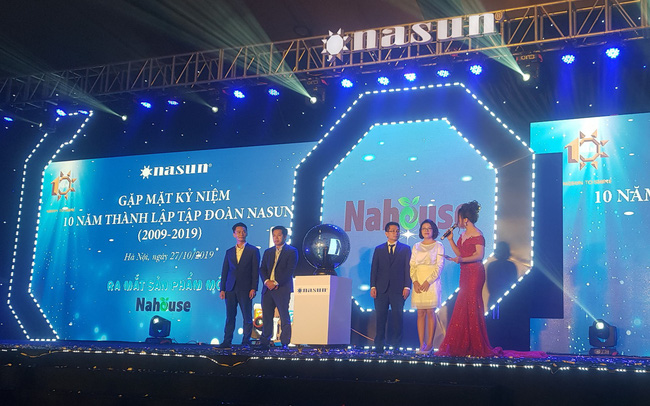 Nasun - Tập đoàn thuần Việt 100% chính thức lấn sân thị trường đồ gia dụng