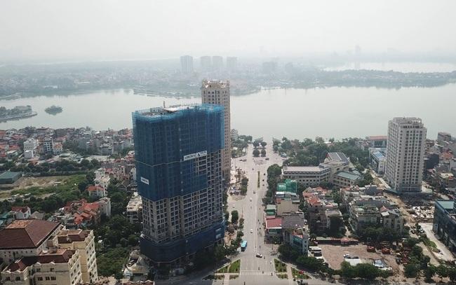 Tây Hồ Tây – trung tâm của bất động sản Thủ đô cuối năm