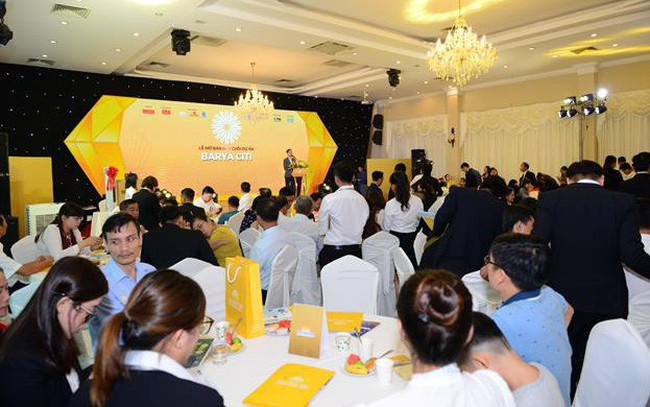 Lễ mở bán đợt cuối dự án Barya Citi thu hút sự quan tâm lớn của nhà đầu tư