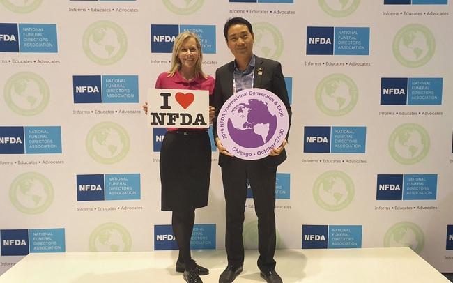 Hoa viên Bình An: Ghi danh tại tổ chức quản trang quốc tế NFDA