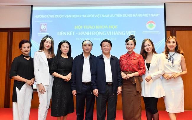 """Doanh nhân Bùi Thanh Hương: """"Người Việt Nam cần phải ưu tiên dùng hàng Việt Nam"""""""