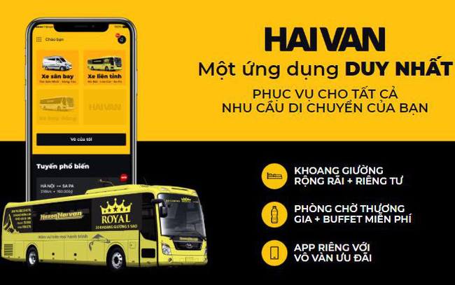 Ứng dụng công nghệ vận tải hiện đại hàng đầu Việt Nam trên tuyến xe khách Hà Nội-Lào Cai-Sapa