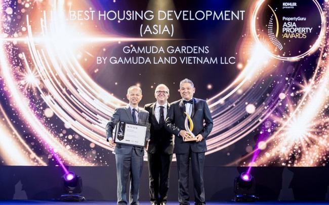 "Gamuda Gardens ""thắng lớn"" tại PropertyGuru Asia Property Awards"