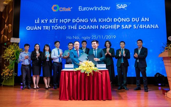 CITEK và Eurowindow khởi động dự án SAP S/4HANA hướng đến xây dựng doanh nghiệp số thông minh trong quản trị và điều hành