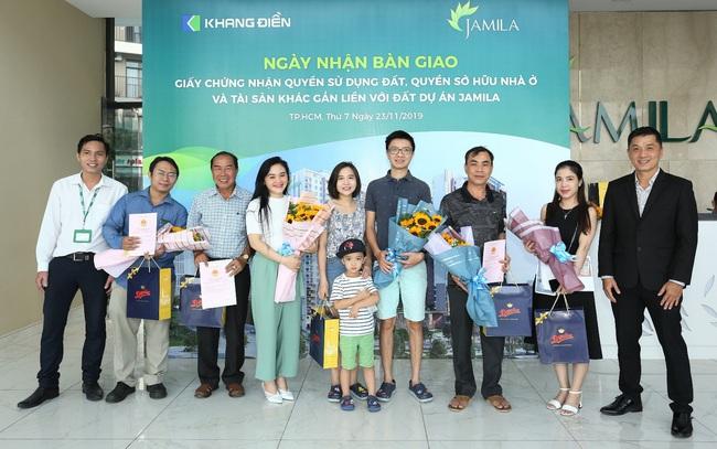 Khang Điền bàn giao sổ hồng cho cư dân Jamila, mở bán đợt 2 dự án Lovera Vista