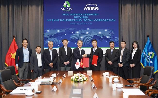 Tập đoàn An Phát Holdings kí kết hợp tác toàn diện với tập đoàn Itochu