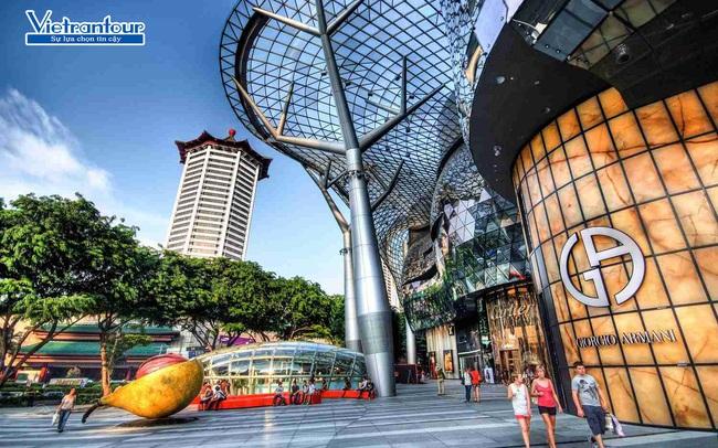 Sắm đồ hiệu thả ga, săn sale cực đã tại thiên đường mua sắm Singapore