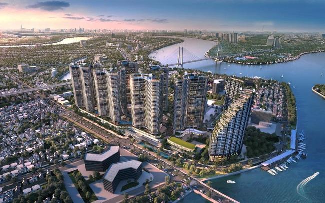 Dự án căn hộ resort tại Quận 7 đào sông trong lòng dự án, phát triển 4.000 vườn nhiệt đới trên không