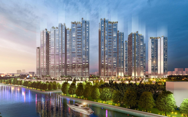 """Dự án đầu tiên tại Quận 7 có 100% căn hộ sở hữu thiết kế kính tràn nguyên khối từ trần xuống sàn như """"sky villa"""""""