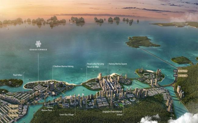 Grand Bay Townhouse – vị trí trung tâm, đòn bẩy đắt giá