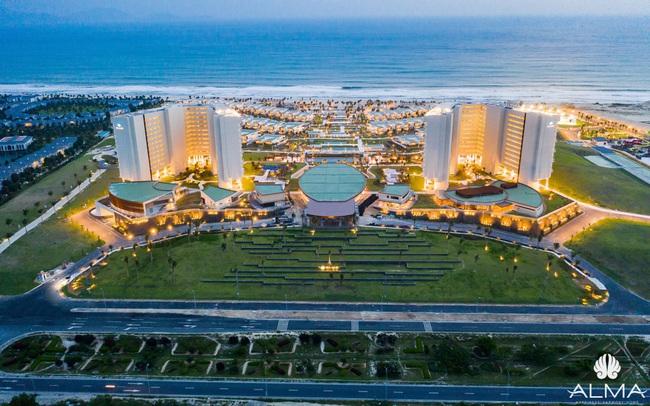 Resort view biển 5 sao gần sân bay Cam Ranh chuẩn bị vận hành
