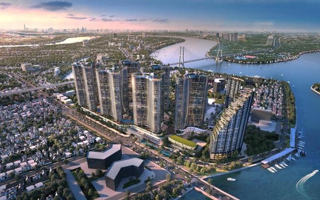 Tổ hợp resort hơn 1 tỷ USD có sông nhân tạo, thác nước và vườn nhiệt đới tiếp cận thềm căn hộ tại quận 7