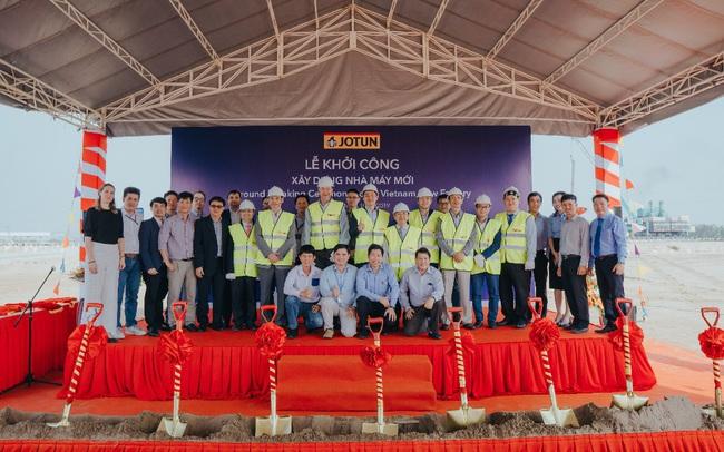 Jotun khởi công xây dựng nhà máy mới tại Việt Nam