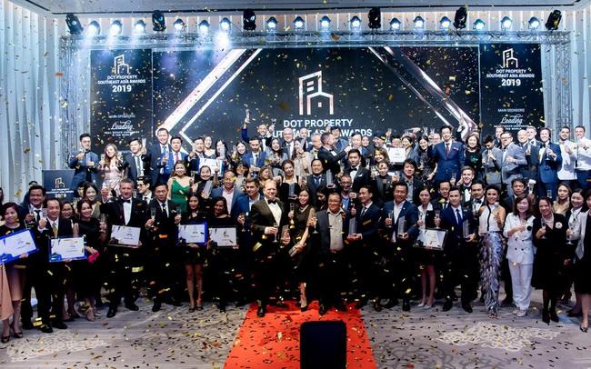 Việt Nam dẫn đầu tại sự kiện công bố giải thưởng Dot Property Southeast Asia Awards 2019