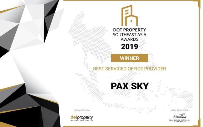 Lần đầu tiên thương hiệu Việt đoạt giải Nhà cung cấp dịch vụ văn phòng tốt nhất Đông Nam Á