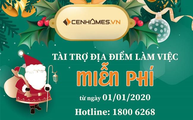 CenHomes miễn phí địa điểm làm việc cho các Sàn Phân phối