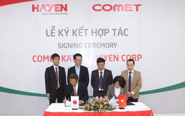 Lễ ký kết thỏa thuận hợp tác chiến lược giữa Hà Yến – Việt Nam và Comet Kato - Nhật Bản
