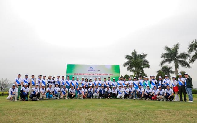 Eximbank tổ chức giải Golf Eximbank – Visa Golf Tournament 2019