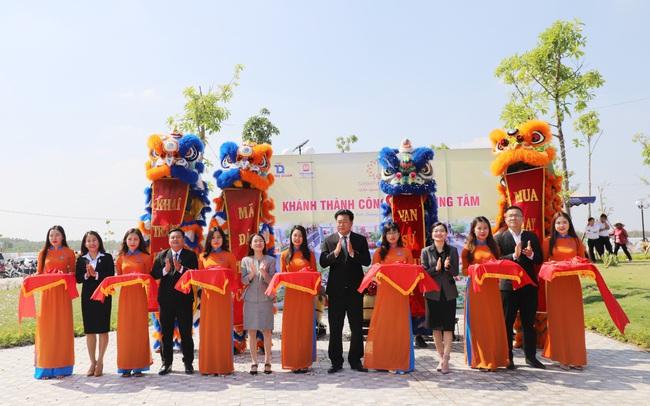 Golden Future City hút hàng trong lễ khánh thành công viên