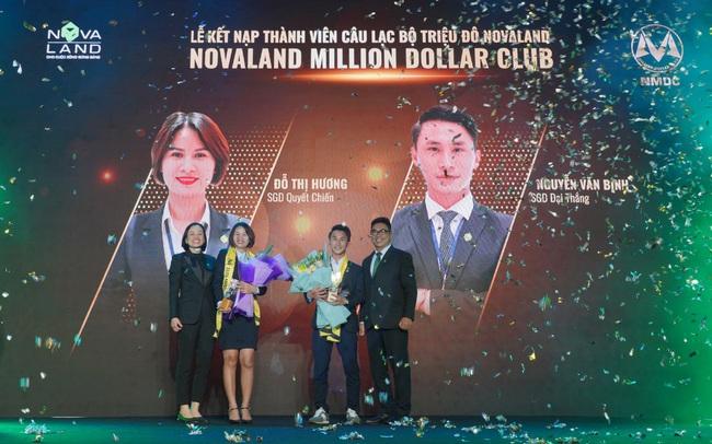 Novaland Million Dollar Club giới thiệu 2 thành viên đầu tiên