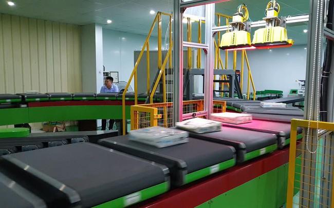 Đột phá dịch vụ chuyển phát nhanh với hệ thống phân loại bưu kiện tự động của Intech Group