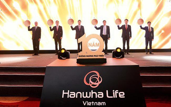 Hành trình 10 năm vươn mình lớn mạnh của Hanwha Life Việt Nam
