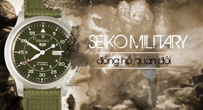 5 lý do đồng hồ Seiko quân đội được nhiều người thích