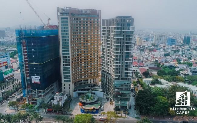 Đà Nẵng: Cưỡng chế công trình xây dựng trái phép tại khu phức hợp khách sạn Bạch Đằng - ảnh 1