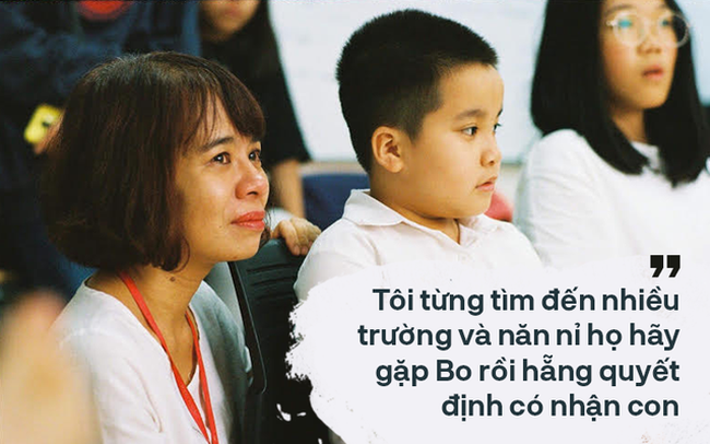 Giọt nước mắt của mẹ và bức tâm thư nhờ cộng đồng tìm trường cho con vào lớp 1