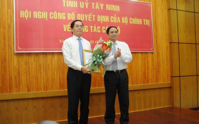 Ông Phạm Viết Thanh làm Bí thư Tỉnh ủy Tây Ninh