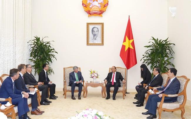 Thủ tướng muốn VISA hỗ trợ Việt Nam phát triển thanh toán điện tử