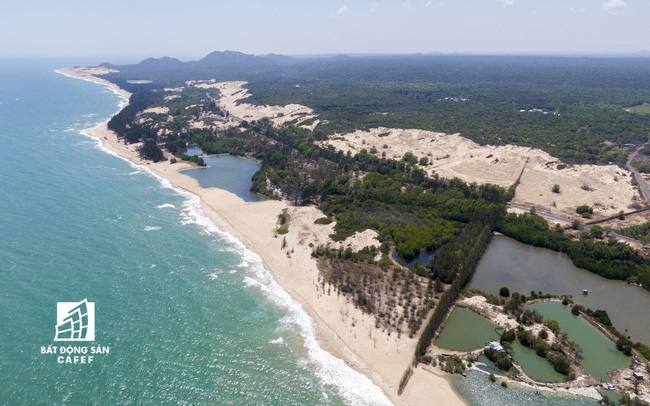 Sở Tài nguyên và Môi trường Bình Thuận thông tin về việc triển khai dự án khu du lịch Lạc Việt