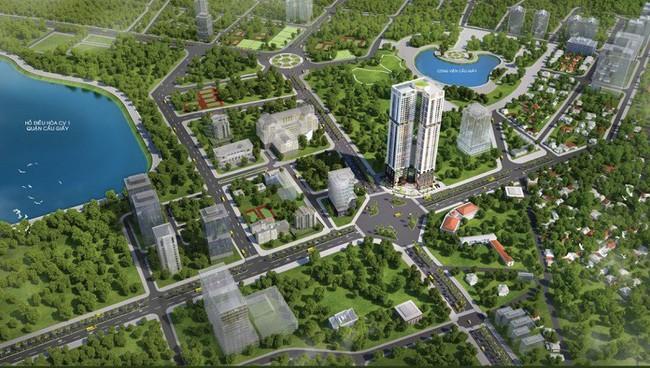 Golden Park Tower hút khách đầu tư quốc tế
