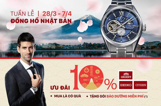 Giải mã sức hút của đồng hồ Nhật Bản tại Việt Nam