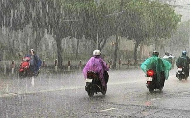 Không khí lạnh sắp tràn về, miền Trung xuất hiện mưa dông