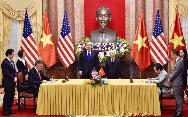 Từ chuyến đi của Tổng thống Donald Trump, nhìn lại chặng đường ngoạn mục của giao thương Mỹ - Việt