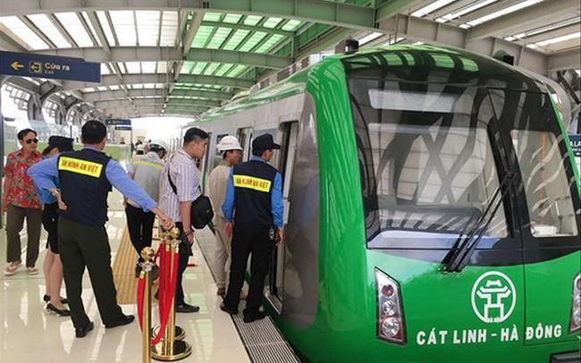 Giá vé tàu Cát Linh - Hà Đông cao nhất 15.000 đồng/lượt